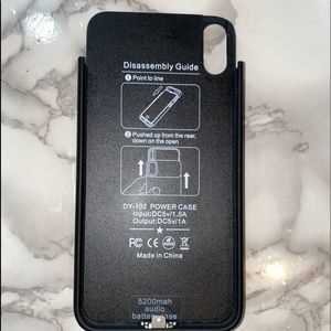 Xs Max charging case